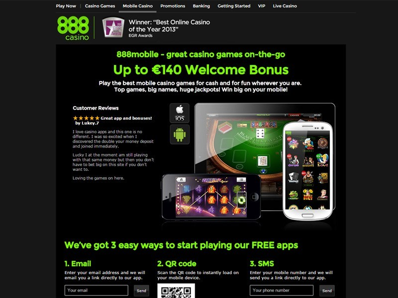 888 Casino Einzahlungsbonus